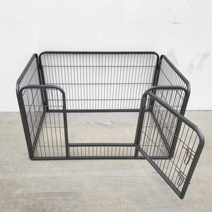 """Brand New $75 Heavy Duty 49""""x32""""x28"""" Pet Playpen Dog Crate Kennel Exercise Cage Fence, 4-Panels for Sale in Santa Fe Springs, CA"""