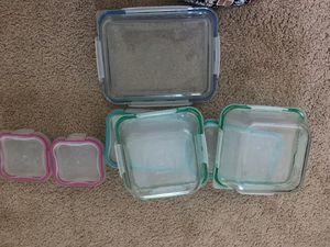 Snap ware Pyrex 18 P.C. glass set for Sale in Mount Prospect, IL