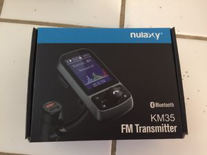 Nulaxy FM Transmitter for Sale in Stockton, CA
