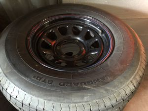 6 lug wheels and tires trailer for Sale in Tempe, AZ