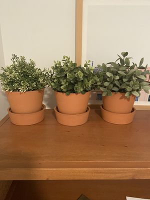 Fake IKEA Plants with Pots for Sale in Washington, DC