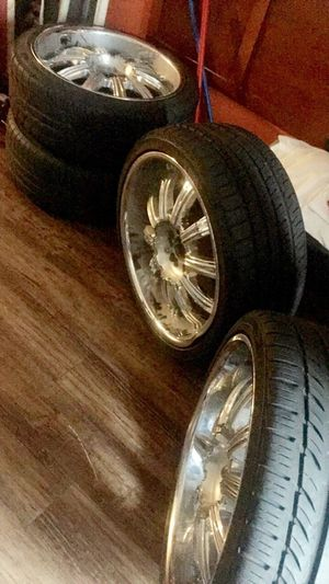 20' Rims all 4 with CAPS {contact info removed} for Sale in Jackson, TN