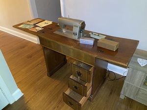 Antique Kenmore 49 sewing machine and table for Sale in Savannah, GA