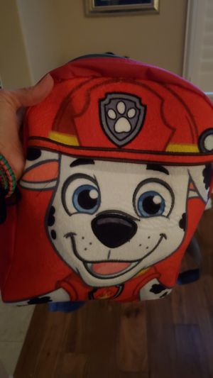 Paw patrol backpack-12 for Sale in Rocklin, CA