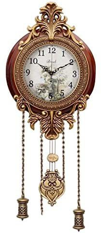 9-inch Retro Style Vintage Wood Indoor Wall Clock Home Decor for Sale in Los Angeles, CA