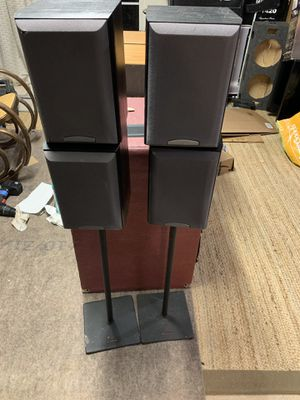 Speaker Sony 4 and 2 stand working good like new for Sale in Centreville, VA
