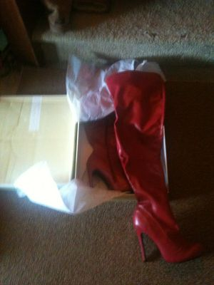 Brand New Red Thigh High Boots for Sale in Philadelphia, PA
