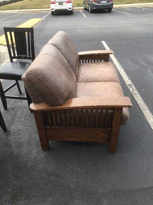 Futon leather for Sale in Greensboro, NC