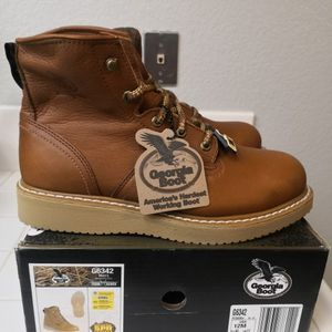 Brand new Georgia Steel Toe work boots Size 12 for Sale in Riverside, CA