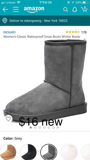 Snow boot 7.5 $16 for Sale in Brooklyn, NY