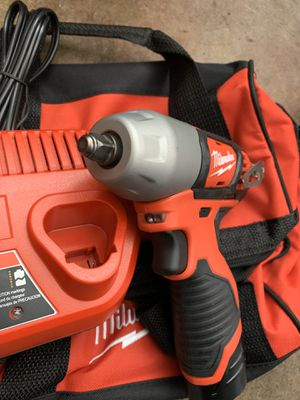 Milwaukee m12 3/8 impact wrench kit for Sale in Glendora, CA
