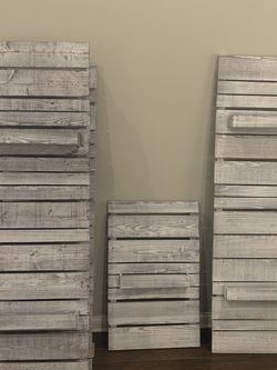 Hand Crafted Wall Art/ Planter Boxes for Sale in Delaware,  OH