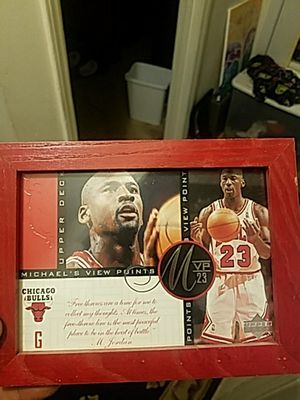 Upper deck mj big card for Sale in Cary, NC