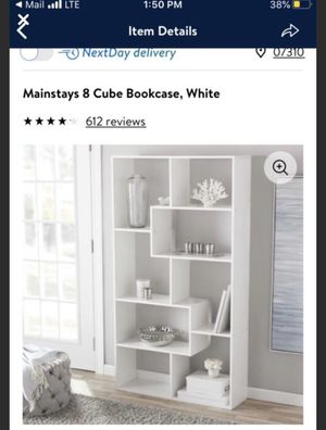 White, 8 cube unique/aeathetic design (two available) for Sale in Jersey City, NJ