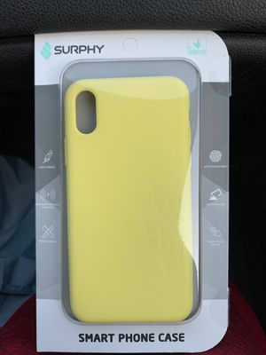 IPhone X cover Lemon Yellow unopened for Sale in Arlington Heights, IL