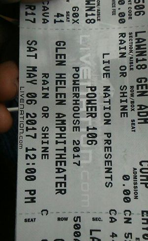 Power 106 howerhouse tickets for tomorrow for Sale in Riverside, CA