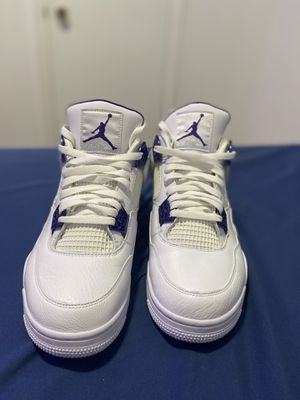 Retro jordan 4 metallic purple size 13 for Sale in El Paso, TX