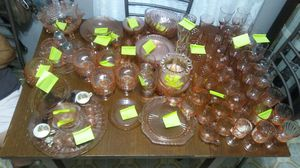 Pink Depression Glass Antique Collection for Sale in Austin, TX