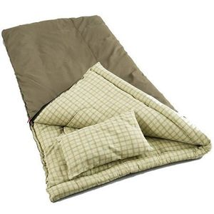 Coleman Big Game -5 Degree Canvas Sleeping Bag for Sale in San Marcos, CA