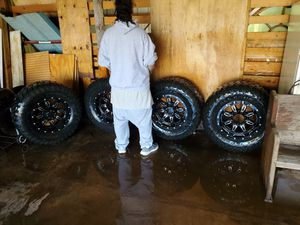 18 inch rims and tires for Sale in Saint Robert, MO