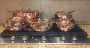 Mauviel 1830 M'150S Copper/Stainless Steel Cookware Set for Sale in Washington, DC