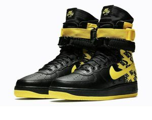 Men's Nike SF Airforce 1 High Top Yellow/Black Size 11 for Sale in Centreville, VA