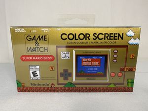 Nintendo Game Watch Super Mario for Sale in Fresno, CA