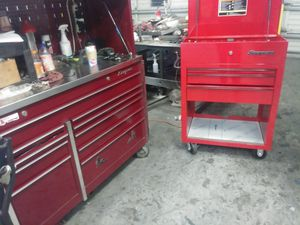 Snap-on tool box and tools for Sale in Stockton, CA