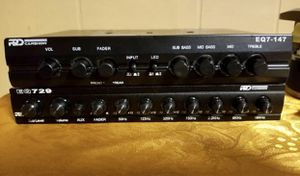 EQUALIZER 7band Music system for Sale in Allentown, PA