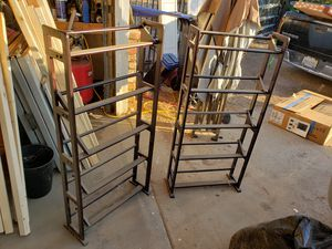 Dvd / can/ games racks for Sale in Madera, CA