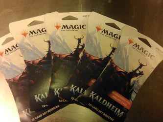 Magic The Gathering. Kaldheim Set Booster Pack for Sale in Portland,  OR