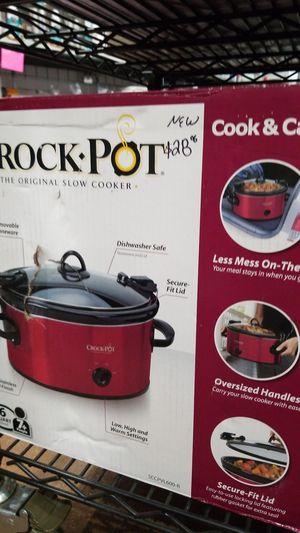 CROCK POT SLOW COOKER for Sale in Garland, TX