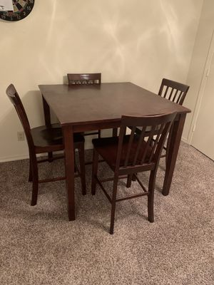 Bar height kitchen table for Sale in Galveston, TX