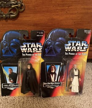 Luke and Obi Wan Vintage Action Figures for Sale in Springfield, MO