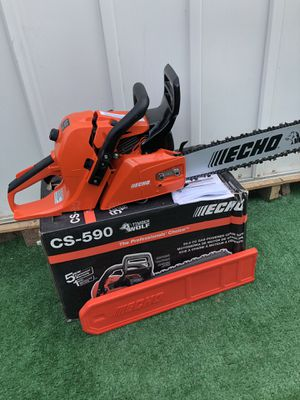 ECHO 20 in. 59.8 cc Gas 2-Stroke Cycle Chainsaw for Sale in La Habra, CA