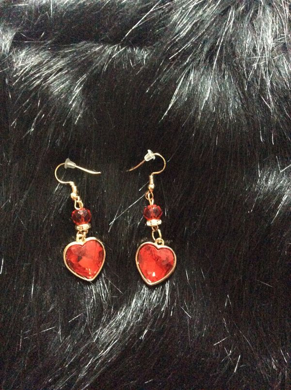 Valentine's Day Sexy Heart Drop Down Earrings