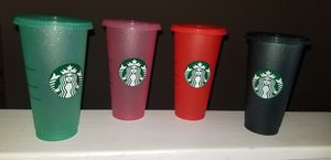 Glitter holiday cups for Sale in Riverside, CA