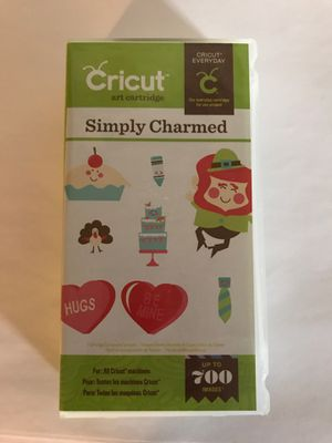 Cricut Cartridge- Simply Charmed for Sale in Wallingford, CT
