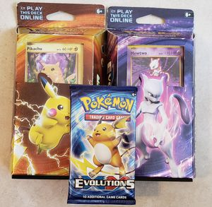 Pokemon XY Evolutions Theme Decks & Booster Pack for Sale in Orlando, FL