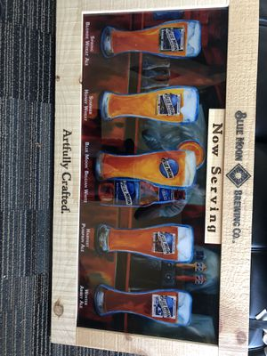 Blue moon bar sign for Sale in Tempe, AZ