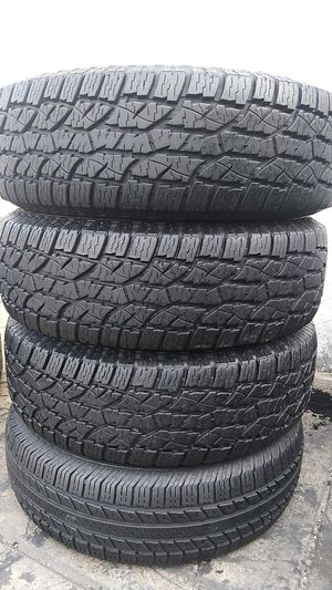 Four tires for sale 235/75/15 for Sale in Washington, DC
