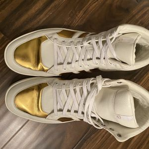 1 Pair Of Gucci Sneakers And 2 Pair Of Balenciaga Sneakers Size 12/45 for Sale in Jersey City, NJ