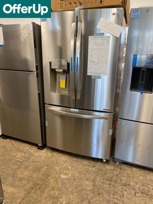 WE DELIVER! LG Refrigerator Fridge Stainless Steel Brand New #764 for Sale in Levittown, PA