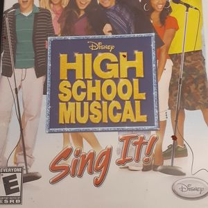 Disney's HIGH SCHOOL MUSICAL SING IT (Nintendo Wii + Wii U) for Sale in Lewisville, TX