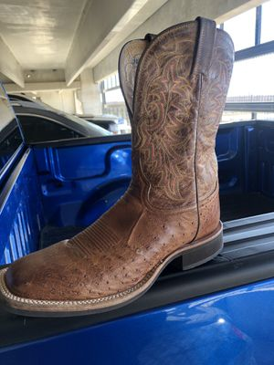 Tony Lama size 12 ostrich boots for Sale in Allen, TX