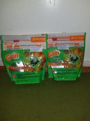 2 gain fling 16caps for Sale in Glenarden, MD