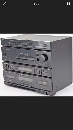 Pioneer Rx-530 FM/AM Digital Synthesizer w/Double Cassette Deck Receiver for Sale in Baltimore, MD
