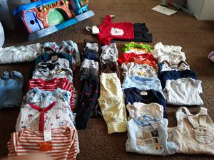Baby boy clothes 0-3 months for Sale in Newark, OH