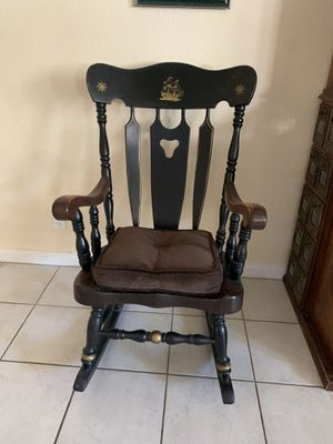 Solid wood antique rocking chair for Sale in Las Vegas, NV