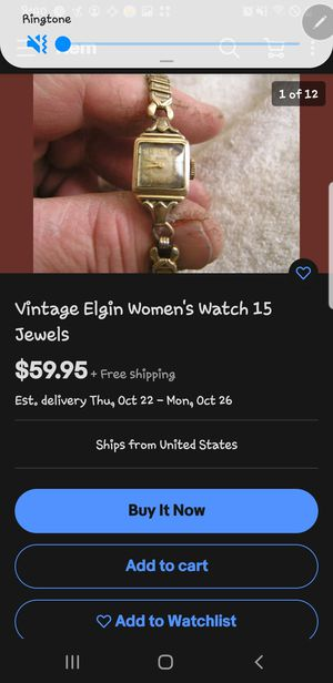 Vintage watch for Sale in Quincy, IL